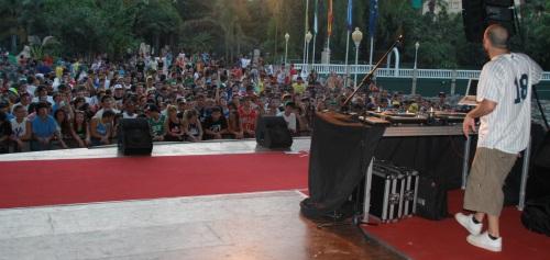Los ritmos de hip hop y reggae se fusionaron en el Majuelo