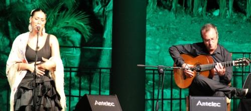 Marina Heredia presentó su último disco en Almuñécar