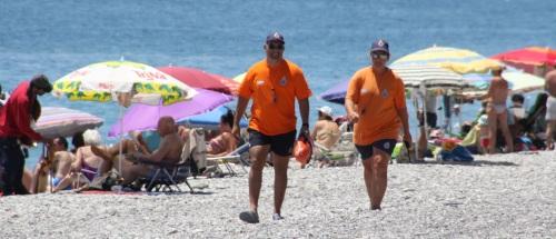 Más de 220 servicios en julio de Protección Civil en las playas sexitanas