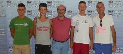 Tres almuñequeros participaran en Campeonato de España de Vóley Playa