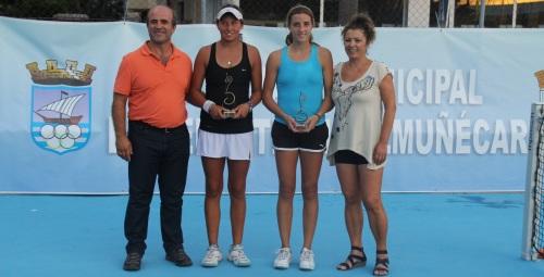 Agustín Boje y Charlotte Roemer ganan el X Open de Tenis a la Amistad – Memorial Diego Fernández de Almuñécar