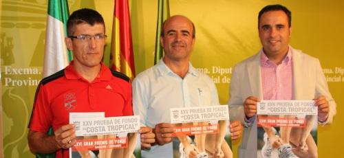 Almuñécar espera más de un millar de atletas el 29 de septiembre en la XXV Prueba de Fondo Costa Tropical del Gran Premio Diputación
