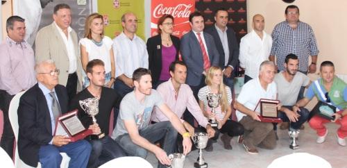 El PMD de Almuñécar homenajeado en la clausura del IX Circuito de Vóley Playa Costa Tropical 2013
