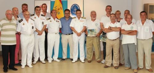 La II Exposición Marítima de la Liga Naval ha recibido unas 2.000 visitas