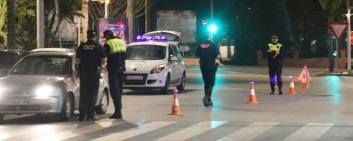 La Policía Local de Almuñécar ha incrementado sus actuaciones durante julio y agosto