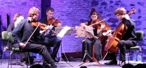 Mágico concierto en la Torre del Tesorillo ofrecido por Sexteto Hyperion