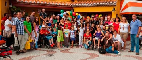 Un grupo de niños hospitalizados disfrutaron de una jornada en Almuñécar