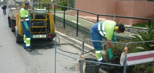 22.484 limpiezas de imbornales antes de que llegue la época de lluvias