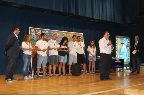 ACTO ENTREGA TROFEOS Y CLAUSURA CAMPEONATO NACIONAL CAZA FOTOSUB APNEA  EN LA HERRADURA 13
