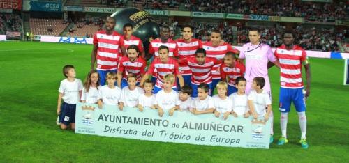 Almuñécar tuvo una buena acogida en la promoción turística celebrada durante el encuentro entre el Granada CF y el Bilbao