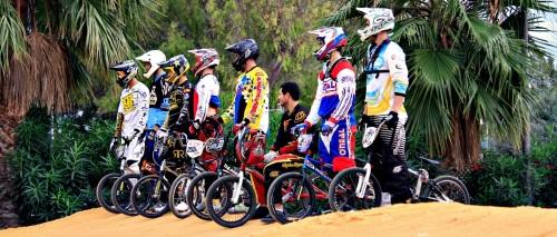 Open navideño de BMX en el circuito municipal de El Pozuelo