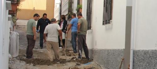 Arrancan las obras de rehabilitación de la Calle Bergantín de La Herradura