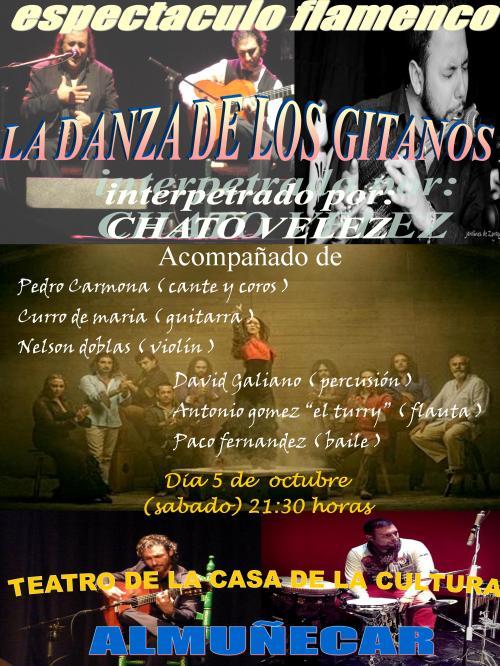 ESPECTACULO FLAMENCO LA DANZA DE LOS GITANOS EN ALMUÑECAR 13