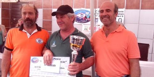 """Gabriel Ramírez y Aida Rivas ganan el IV Certamen de Pesca """"Ciudad de Almuñécar"""