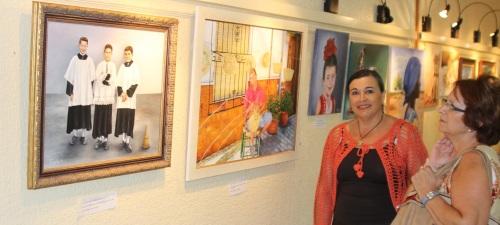 La Casa de la Cultura de Almuñécar acoge una muestra colectiva de pintura