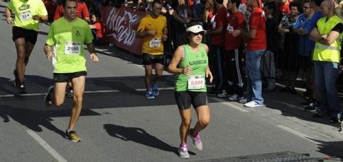 María Ángeles Almirón hizo podio en la Media Maratón de Granada