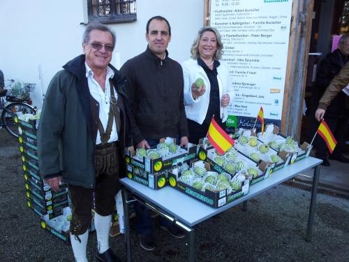 Almuñécar promociona la chirimoya y sus atractivos turísticos en la ciudad hermana de Alemania