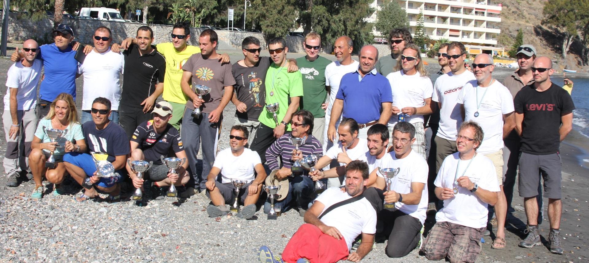 Samuel Aguilera campeón de Andalucía de Parapente de Precisión