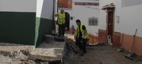 El Ayuntamiento de Almuñécar rehabilita la zona sur de la calle Obispo