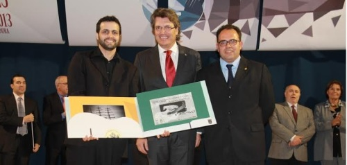 El brasileño Marcos V. Wagner ganador de la última edición del Andrés Segovia