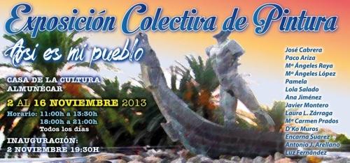"""Exposición de pintura colectiva bajo el lema """"Así es mi pueblo"""""""