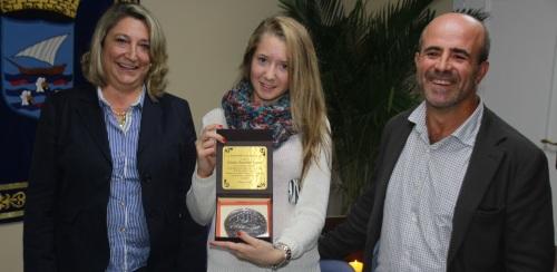 Felicitaciones para Cristina Torrecillas por su éxito en el mundial de pádel