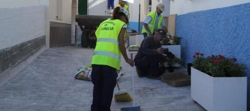 Finalizan los trabajos de rehabilitación de la calle Justo de Haro Caballero