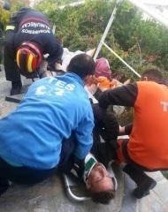 Herido un parapentista tras chocar contra una casa en la Punta de la Mona