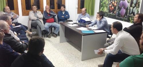 Las Comunidades de Regantes conocen la Oficina Municipal de Atención al Agricultor