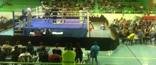 Los luchadores sexitanos triunfaron en la velada de Kick Boxing celebrada en Almuñécar