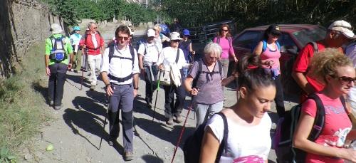 Senderistas sexitanos realizaron una ruta desde Lentegí hasta Almuñécar