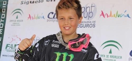 Yeray Díaz Camacho se proclama campeón (alevín) de Andalucía Motocross