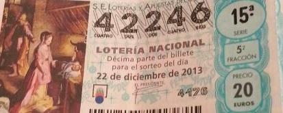 La Cofradía de la Borriquita de Almuñécar reparte casi 180.000 euros con el número 42.246