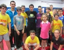 Carlos Alonso gana el Torneo de Navidad sexitano de tenis mesa