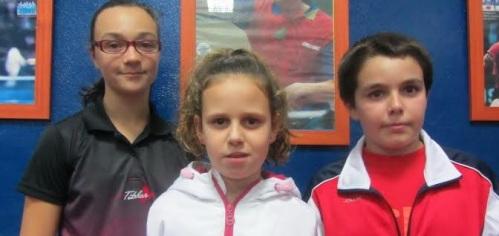 Concentración de jóvenes talentos del tenis mesa
