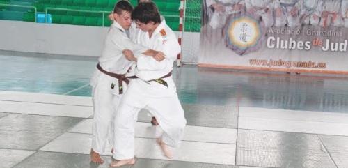 Concentración de Navidad de las selecciones andaluzas de Judo
