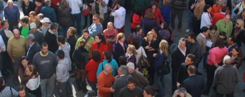 Unas 300 personas se han concentrado en apoyo de la agricultura sexitana