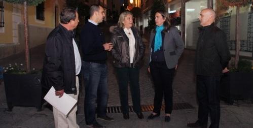 La vicepresidenta primera conoce el resultado de las obras del PFEA impulsadas por la Diputación en Almuñécar