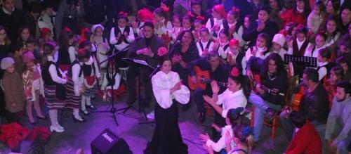 """Gran éxito de la III Zambombá """"Navidad Flamenca 2013"""""""