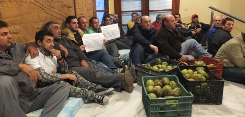 Movilización de Aprodate en defensa de la agricultura sexitana