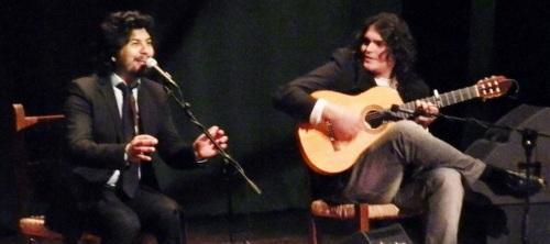 """Gran actuación del cantaor flamenco Alonso Núñez """"Rancapino Chico"""""""