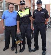La Policía Local, con ayuda de un can, llevó a cabo varias actuaciones antidrogas
