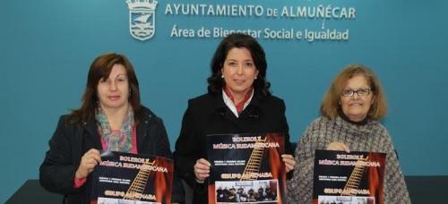 Almuñécar prepara un concierto benéfico con el grupo almeriense Almenara para ayudar a los colectivos sociales Afavida y Acofa Tdah