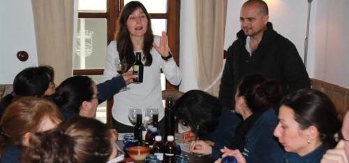 En el Taller de cocina Cazuela Mohína conocen mejor los aceites andaluces