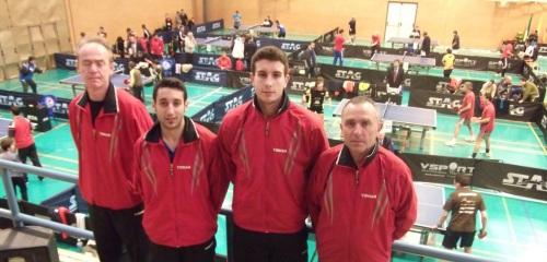 Toño Cruz bronce en el Campeonato de Andalucía de Veteranos de Tenis Mesa