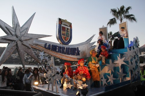 MELCHOR CABALGATA LA HERRADURA 2013