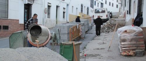 Eliminación de barreras arquitectónicas en la calle Real de La Herradura