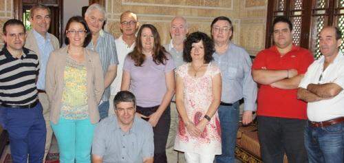 Grupo de periodistas irlandeses junto al director OET en Dublín visitaron Almuñécar el verano pasado