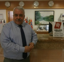 Rafael Lamelas Guillén es director del hotel Helios de Almuñécar y presidente de la Asociación de Hoteleros de la Costa Tropical de Granada (AHCT).