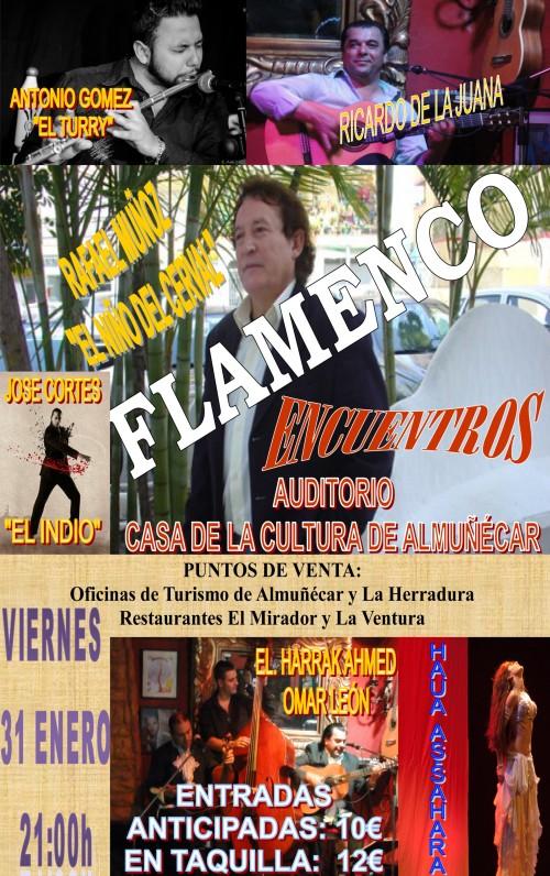 """El cantaor flamenco Rafael Muñoz """"El Niño del Cerval"""" actúa este viernes en la Casa de la Cultura"""